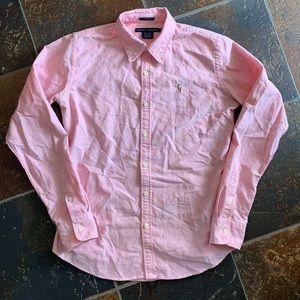 Ralph Lauren Long Sleeve Button Down Shirt Womans